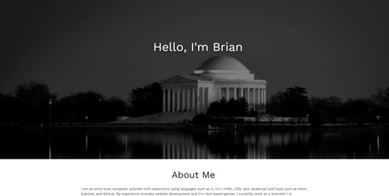 Brian Phair's Personal Website